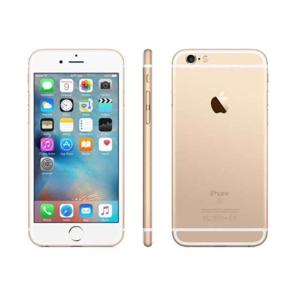Apple Iphone 6s 32gb Gold Preowned