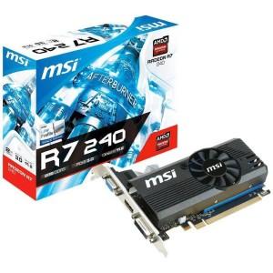 Msi R7 240 Lp Edition 2gb Ddr3 - Tarjeta Gráfica