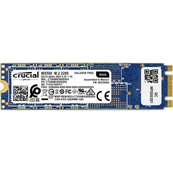 Disco Sólido SSD CruciMx500 500gb Sata 2.5 Disco Sólido SSD Crucial Mx500 500gb Sata 2.5 M.2M.2