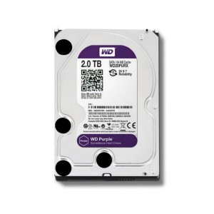 "Disco Duro 3.5"" Wd Purple 2tb Sata3 IntelliPower"