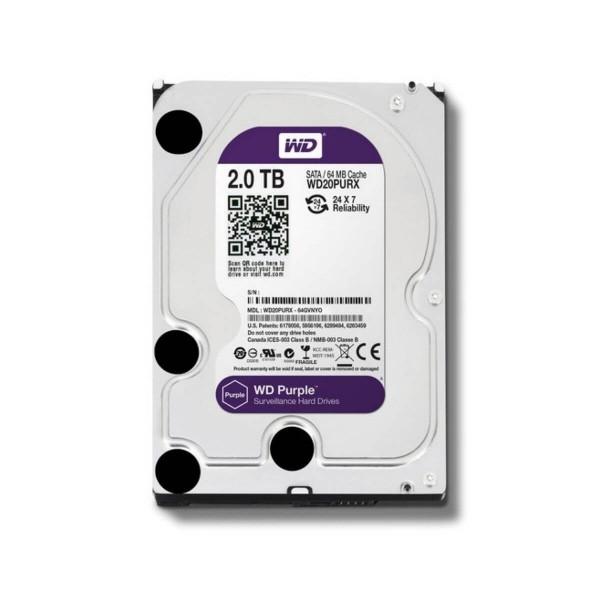 """Disco Duro 3.5"""" Wd Purple 2tb Sata3 IntelliPower"""
