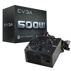 Fuente Evga 600w W1 80 Plus White