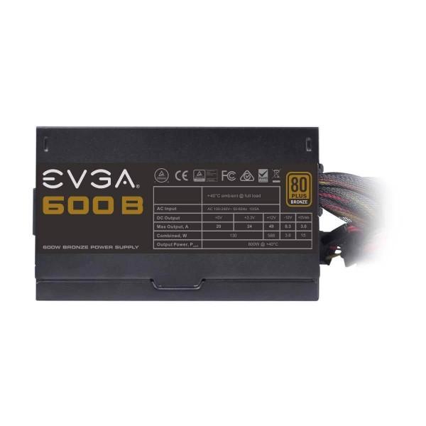Fuente Evga 600w 80 Plus Bronze