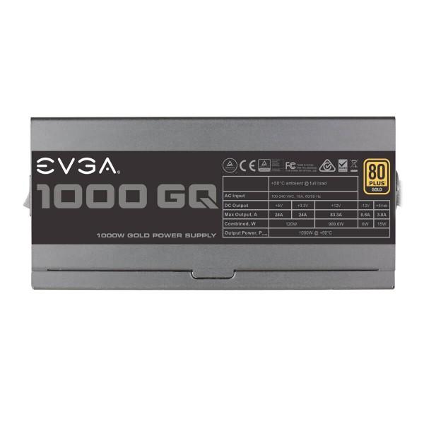 Fuente Evga Gq1000 80+ Gold Semi Mod