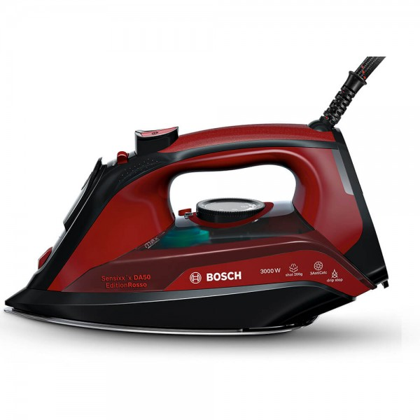 Plancha a Vapor Bosch Sensixx'x DA50 Edition Rosso