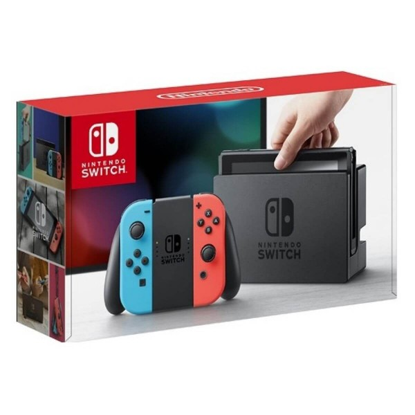 Consola Nintendo Switch Neon Blue