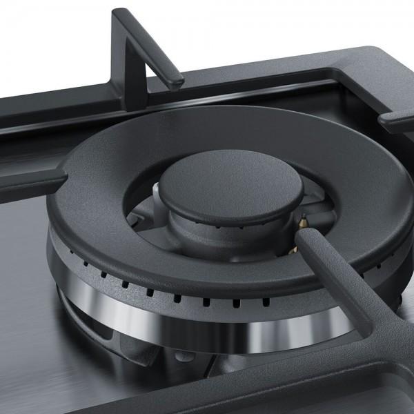 Anafe a Gas 60cm Bosch 9 Niveles de Potencia PCH6A5B90