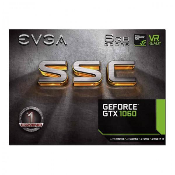 Evga Gtx 1060 6gb Acx 3.0 Gddr5 SSC Gaming - Tarjeta de Video