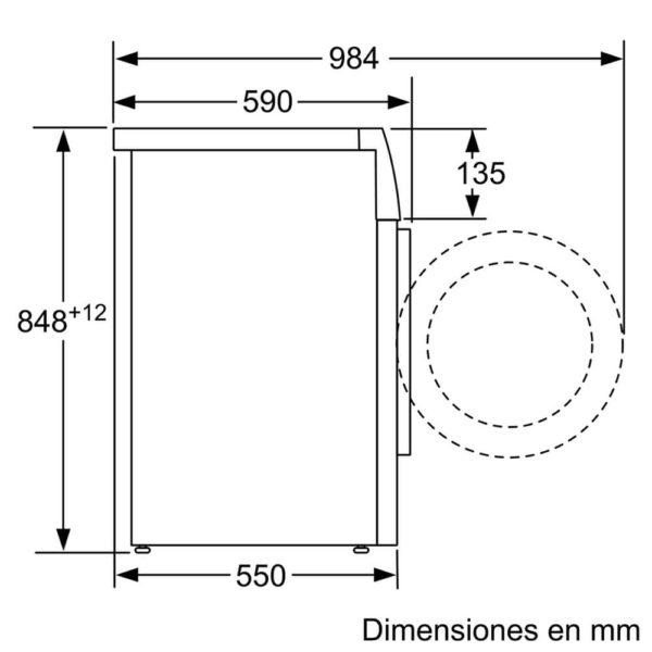 Lavarropas Bosch 6kg A+++ 5 P Especiales WAB20266EE