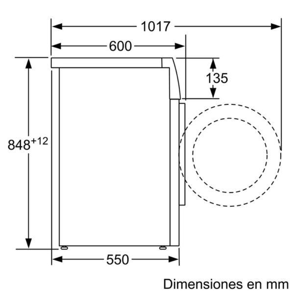 Lavarropas Bosch 7kg Silencioso 7 P Especiales WAN24260ES