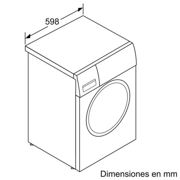 Lavarropas Bosch 9kg A+++ Silencioso WAT28669ES