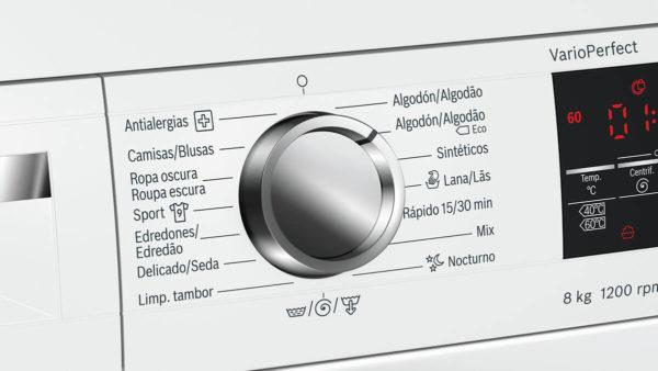 Lavarropas Bosch 8kg Silencioso 7 P Especiales WUQ24468ES