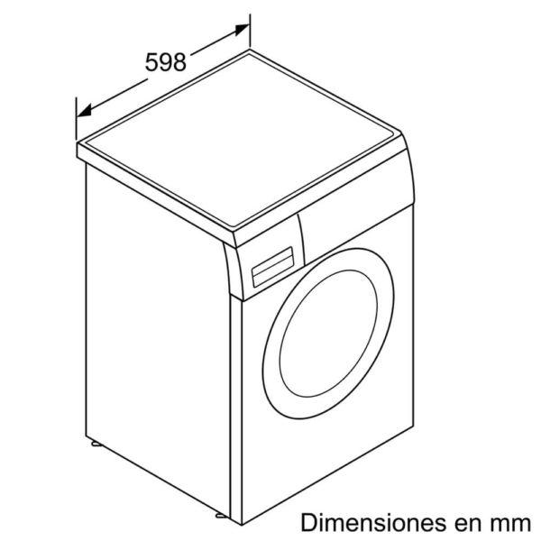 Lavarropas Bosch 8kg A+++ Silencioso WUQ2448XES