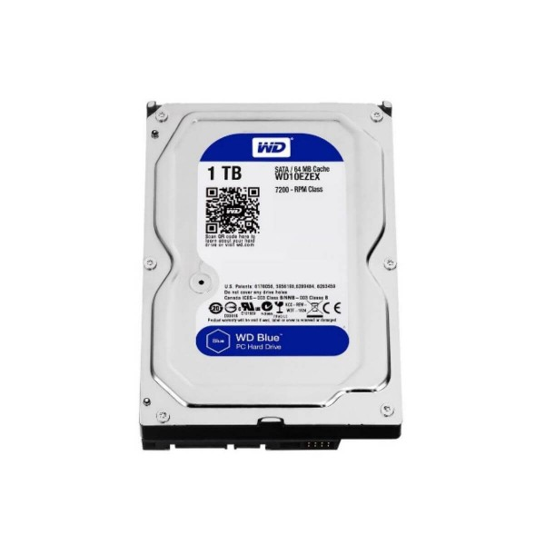 "Disco Duro 3.5"" Wd Blue 1Tb Sata3 7200 Rpm"