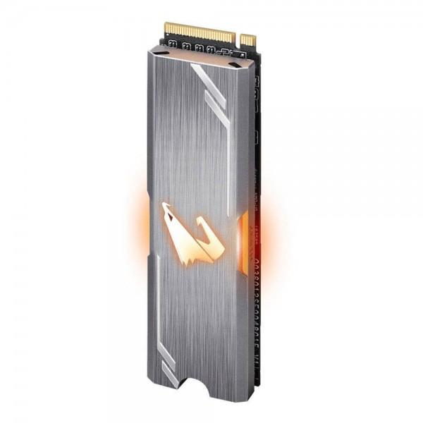 Disco Sólido SSD AORUS RGB M.2 Hot-swap 256 Gb