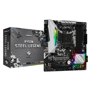 Motherboard Asrock B450m Steel Legend Am4