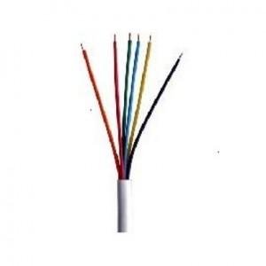 Cable Honeywell 22 6 hilos Cobre Alarma o cctv 150m