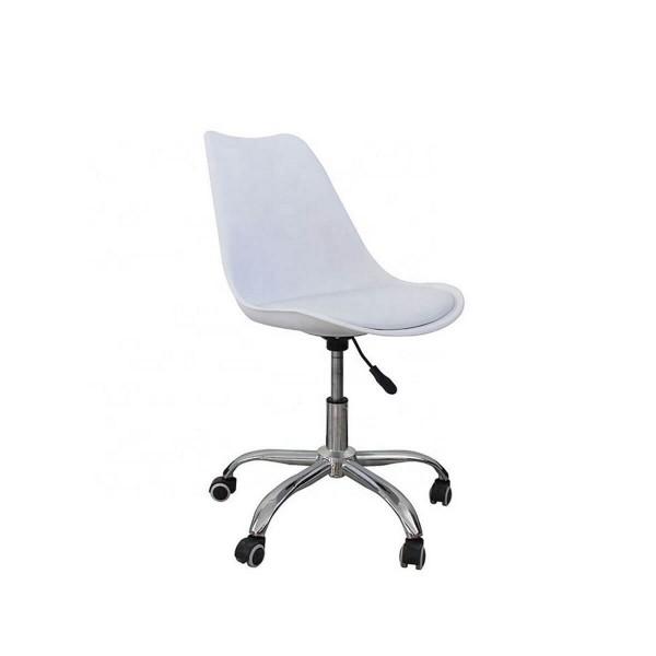 Silla De Escritorio Eames Blanca
