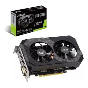 Tarjeta de Video Asus Gtx 1660 Super 6gb Tuf Gaming