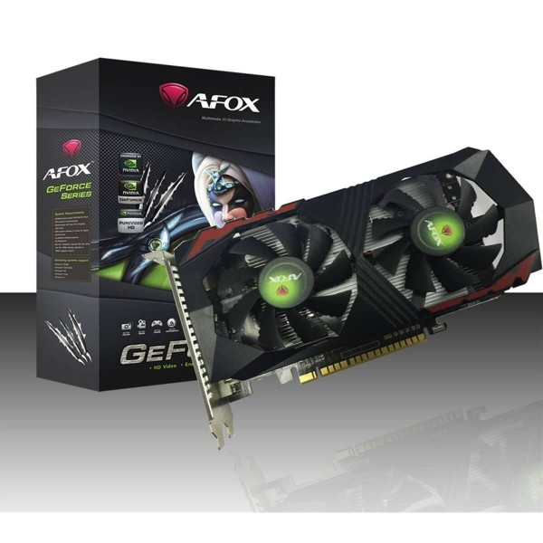 Tarjeta de Video Afox Gtx1050 2gb Gddr5