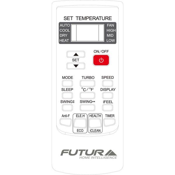 Aire acondicionado Wifi Futura ASW-H18E3B4/LURIDI 18000 BTU