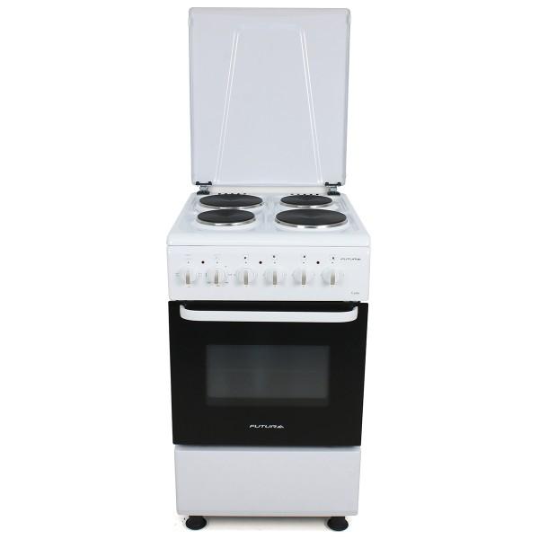 Cocina eléctrica Futura Plus FUT-50-E4 Cadiz Blanca