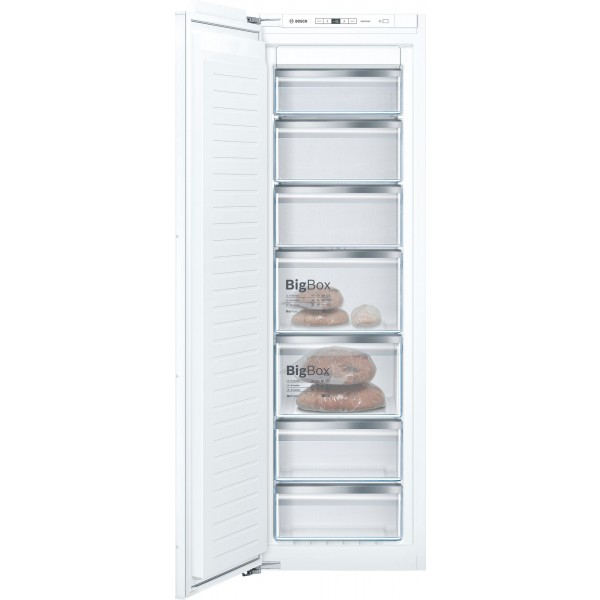 Freezer integrable panelable Bosch GIN81AE30 Blanco