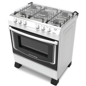 Cocina a supergas Futura MARYLINBLA Blanca 74cm