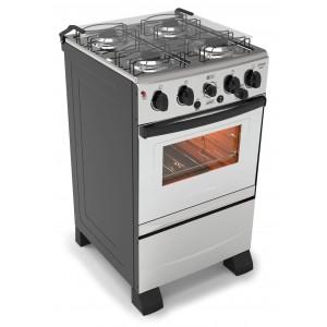 Cocina combinada Futura OLIMPO Inox 50cm