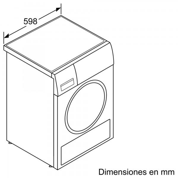 Secarropas de condensación Bosch WTG86263ES 7kg