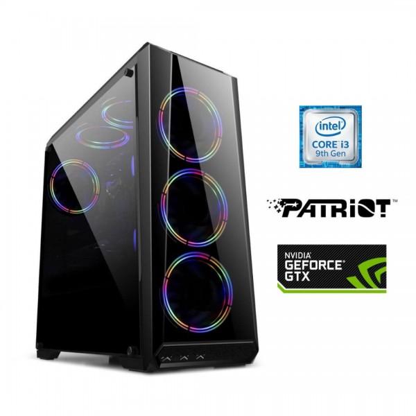 PC Intel i3 9100F – Gtx1650 4Gb – 8gb 2666mhz - Ssd 240gb