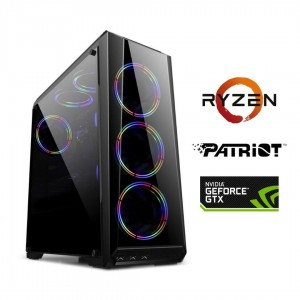 PC Gamer Ryzen 5 1600 – Gtx1650 4Gb – 8Gb 3200mhz– SSD 480Gb