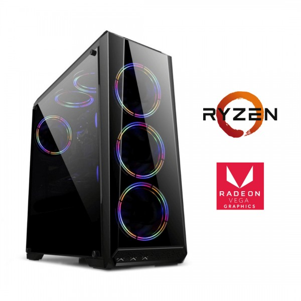 Pc Ryzen 3400g/3200g