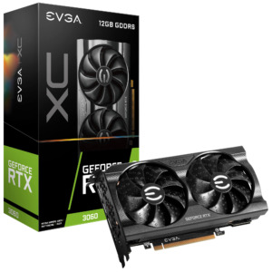 EVGA GeForce RTX 3060 XC GAMING 12GB GDDR6 - Tarjeta de Video