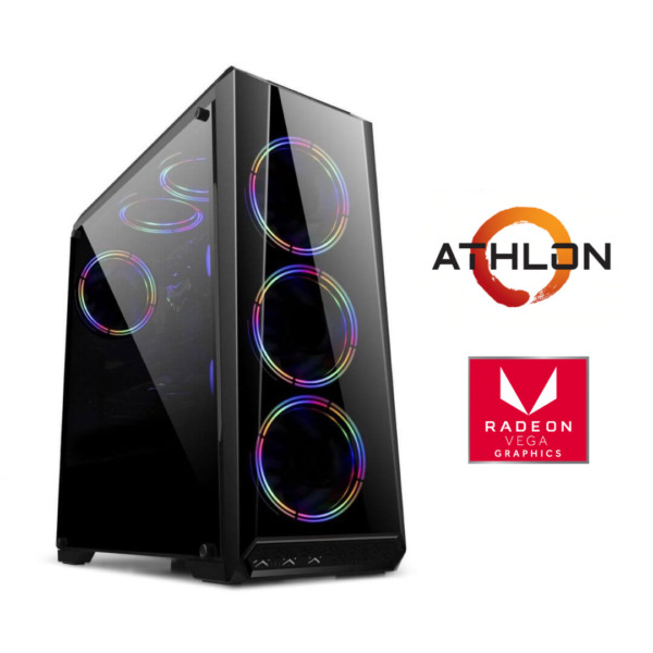 Equipo Athlon 3000g + 8Gb ram + Ssd 240Gb